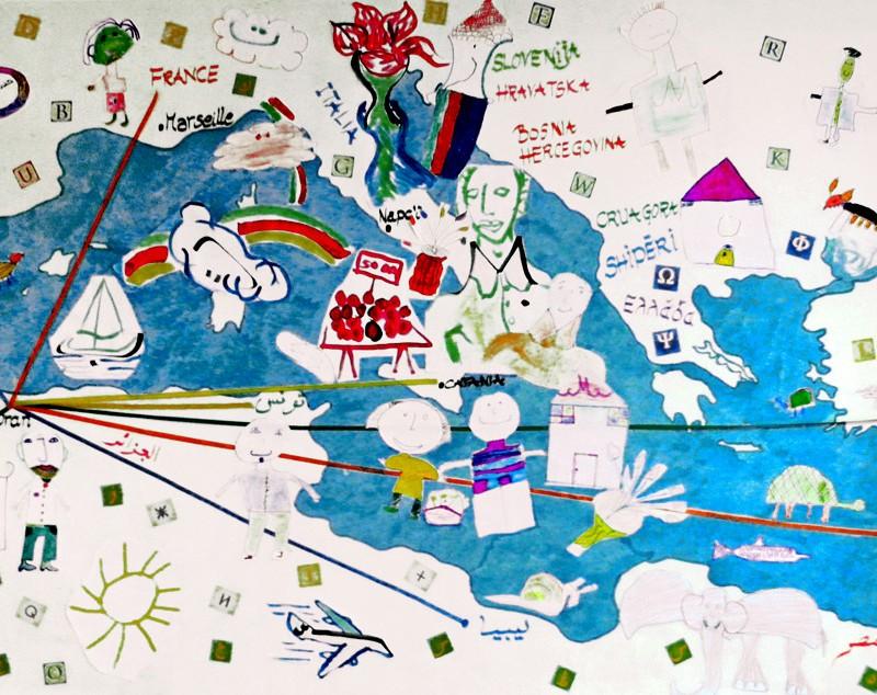 L'atelier « En voyage sur les lettres des alphabets »